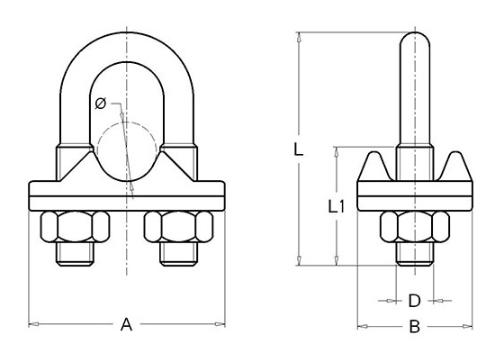 serre-cable-inox-316-plan